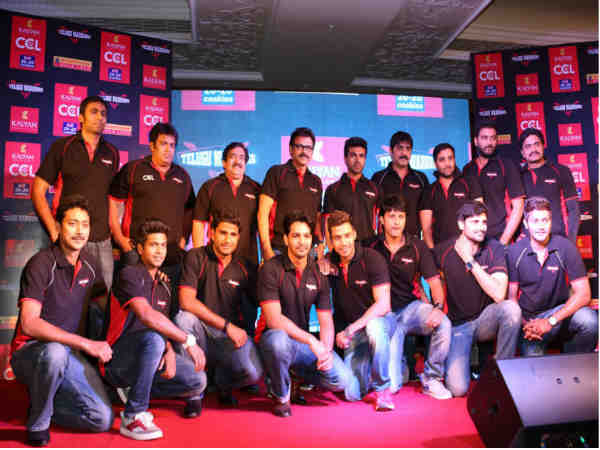 CCL 5: Telugu Warriors Team Members 2015