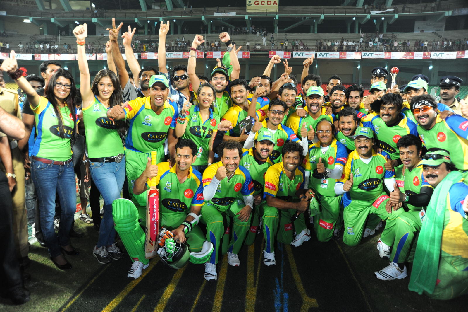 CCL 5: Kerala Strikers Brand Ambassadors 2015