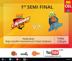 CCL 2015 Day 7 Results, Scorecard, Match Summary & Highlights 31-01-2015