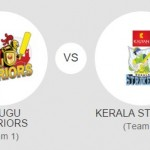 Kerala Strikers vs Telugu Warriors