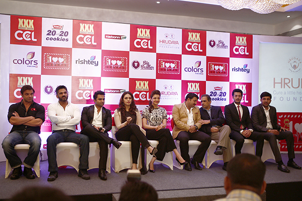 CCL Press Meet For 100 Hearts Initiative