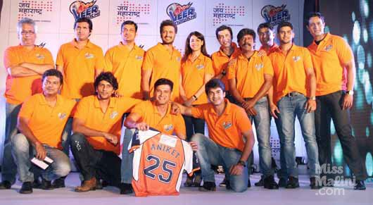 CCL 5: Veer Marathi Team Official Logo & Kits 2015