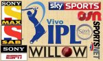 Live IPL 2017 TV Channels Broadcasting List [Worldwide]