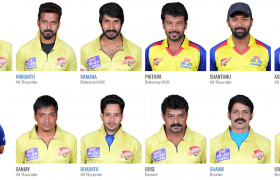 Chennai Rhinos Team Members 2017