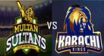 Multan Sultans VS Karachi Kings Predictions 24th Match 4th March 2019